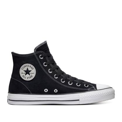 Converse CONS CTAS Pro Hi Shoes - Black / Black / White