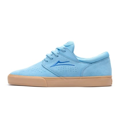 Lakai Fremont Vulc Shoes - Light Blue/Gum Suede