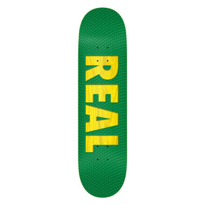 Real Skateboards Bold Team Series Deck 8.38 - Green