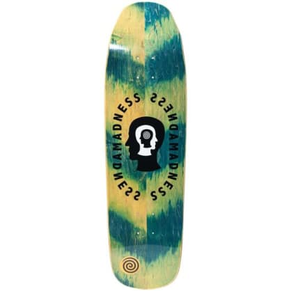 Madness Split Personality Green Impact Light 9.0 Skateboard Deck