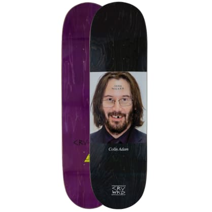 Carve Wicked Colin Adam Skateboard Deck 9""