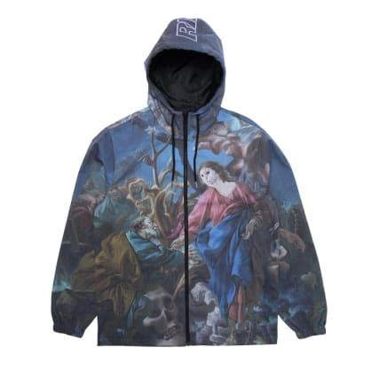 Ripndip - Rip N Dip Majestic Hooded Coaches Jacket | Multi