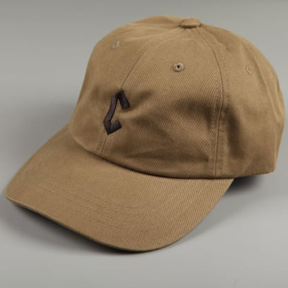 Chrystie 'Small C' 6 Panel Dad Hat (Military Green)