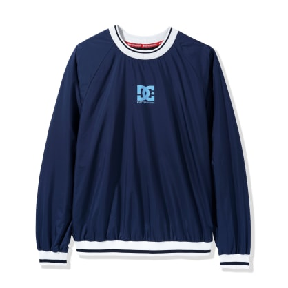DC Shoes x Butter Goods Knick Nylon Pullover - Black