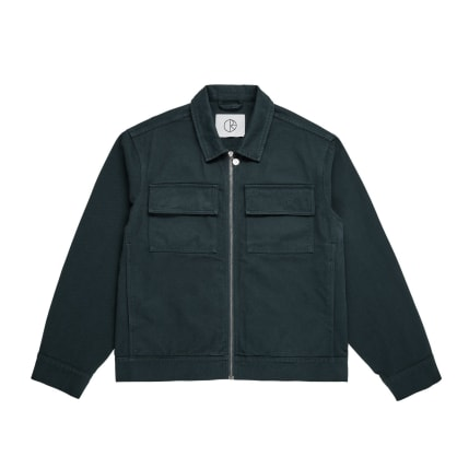 Polar Skate Co Twill Jacket - Grey Teal