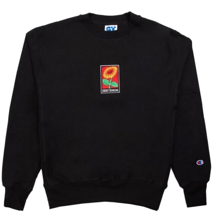 Good Thinking Flora Crewneck - Black