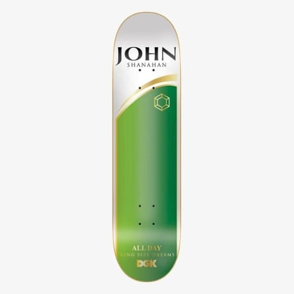 DGK Ashes To Ashes Shanahan Deck (8.25)