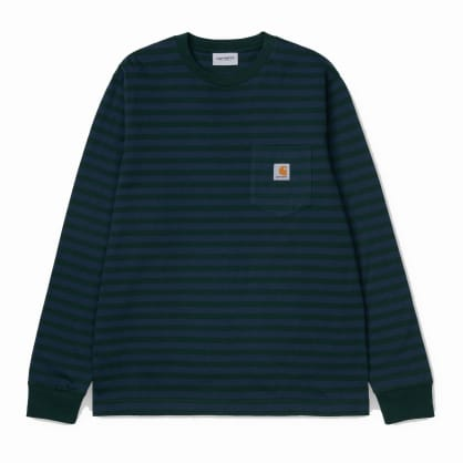 Carhartt WIP L/S Parker Stripe Pocket Shirt