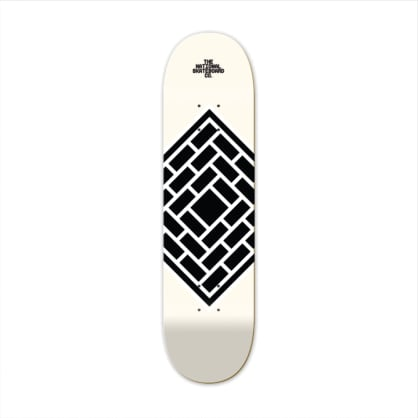 The National Skateboard Co. - The National Skateboard Co. - Classic Cream - High Concave