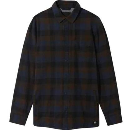 Vans Flannel Shirt Lined Olson Black-Demitasse