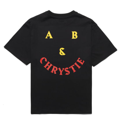 Chrystie NYC - A&B Chrystie smile logo T-shirt / Black