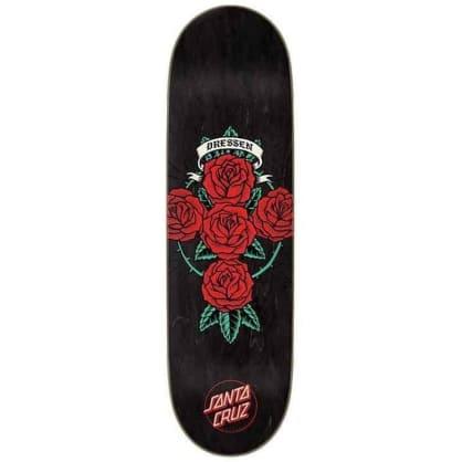 Santa Cruz Skateboards - Eric Dressen Roses Cross Deck.
