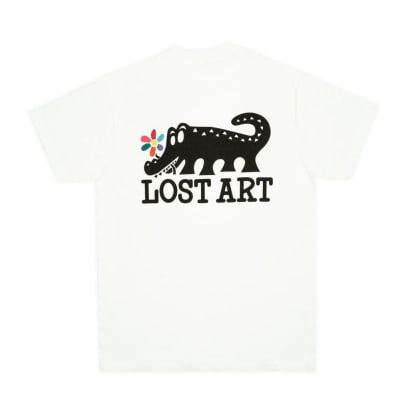 Lost Art Daisy Age T-Shirt - White
