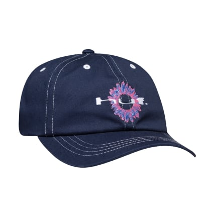 Huf - Peaking 6 Panel Cap - French Navy