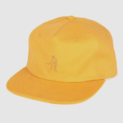 "PASS~PORT ""WORKERS"" 5 PANEL CAP GOLD"