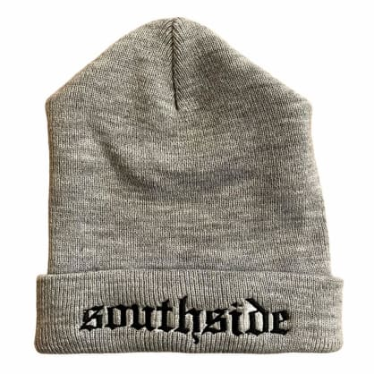 Southside Old English Beanie Grey