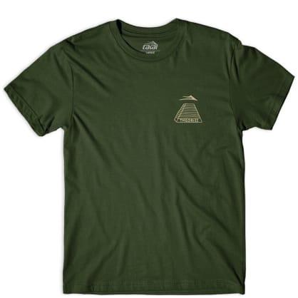Lakai x Theories Pyramid T-Shirt - Olive