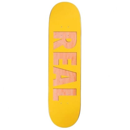 """Real Bold Team Series Yellow Deck - 8.06"""""""