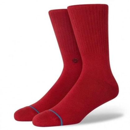 Stance Socks - Stance Socks Icon   Crimson