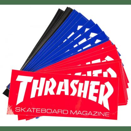 """Thrasher - Skate Mag Large 10"""" Sticker (Various Colours)"""