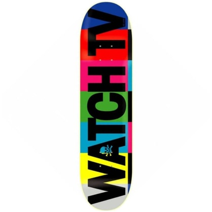 "Death Skateboards - Watch TV Deck 8.5"" Wide"
