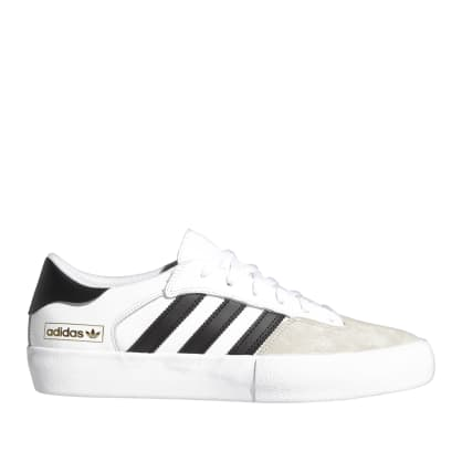 adidas Skateboarding Matchbreak Super Shoes - Ftwr White / Core Black / Clear Brown
