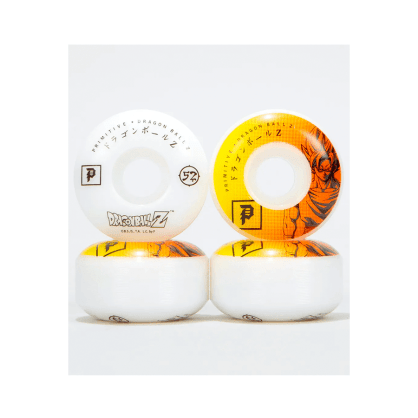 Primitive Skateboarding Wheels Dragon Ball Z DBZ 52mm 99a