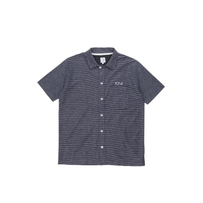 Polar Skate Co Patterned Stripe Shirt - Black / Purple