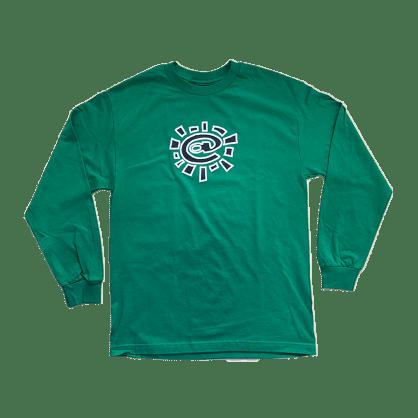 always do what you should do - green long sleeve @sun t-shirt