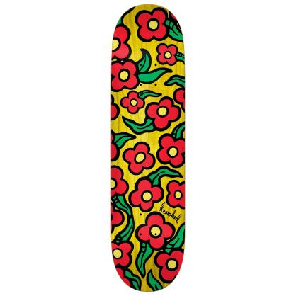 "Krooked Deck Wild Style Flowers 8.25"""