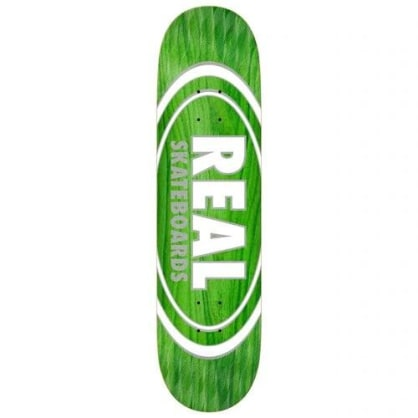 Real Oval Pearl Patterns Deck 8.75""