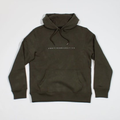 Poetic Collective Still Life Hoodie - Olive