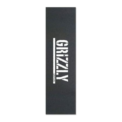 Grizzly Stamp Print Griptape - White