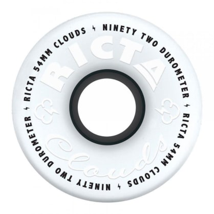 Ricta Wheels - Ricta Clouds Soft Skateboard Wheels 92A