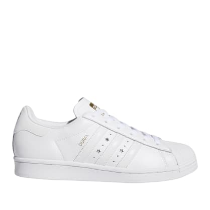 adidas Skateboarding Superstar ADV x Duran Shoes (US SIZES) - Cloud White / Cloud White / Cloud White