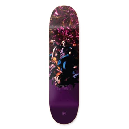 Primitive Skateboarding Robert Neal Gateway Skateboard Deck Purple - 8.125