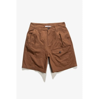 Blacksmith - Sateen Camping Shorts - Brick