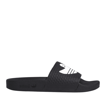 adidas Skateboarding Shmoofoil Slide - Core Black / Cloud White / Cloud White