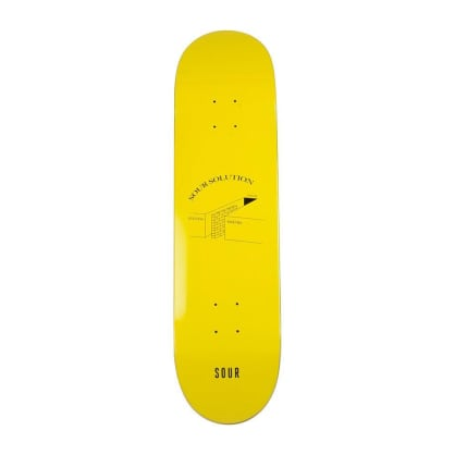 Sour Yellow Success Failure Skateboard Deck - 8.18""