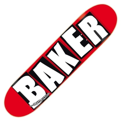 Baker - Brand Logo Deck 8.25 Red/White