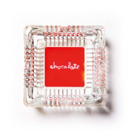 Chocolate Skateboards - Red Square Ashtray