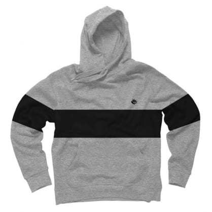Magenta Skateboards Brodé Heather Grey Hoodie