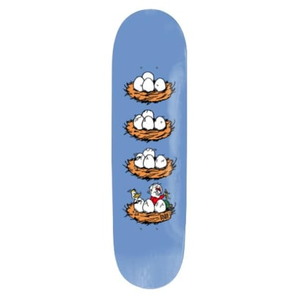 Pass~Port What U Thought Series Eggs Skateboard Deck - 8.25