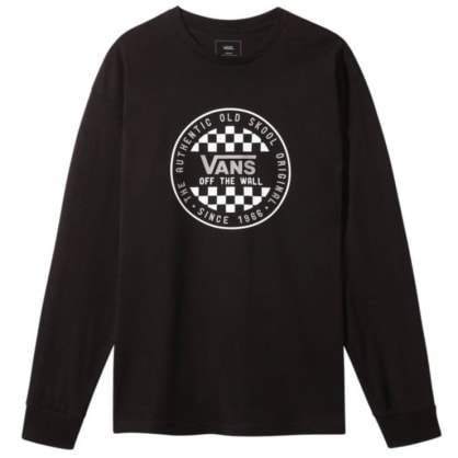 Vans - OG Checker L/S T-shirt - Black
