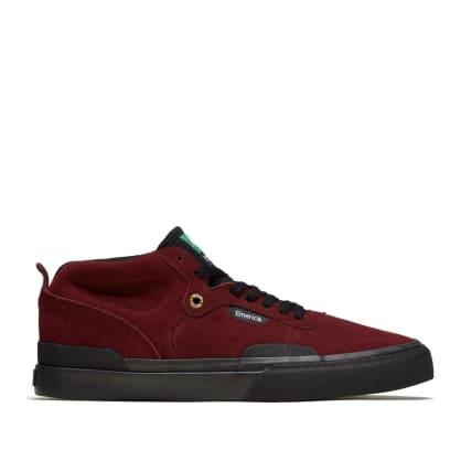 Emerica Pillar Skate Shoes - Oxblood