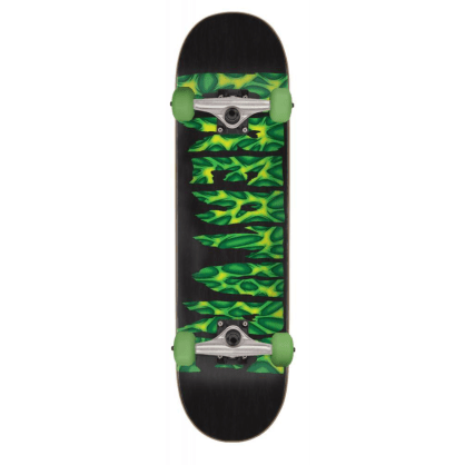 "Creature Skateboards - 8.0"" Strains Complete - Black / Green"