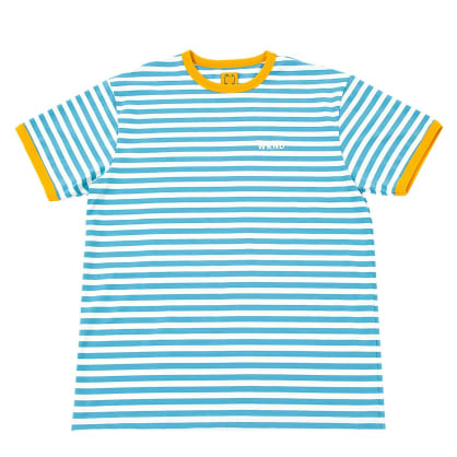 WKND Stripe T-Shirt - Blue- White