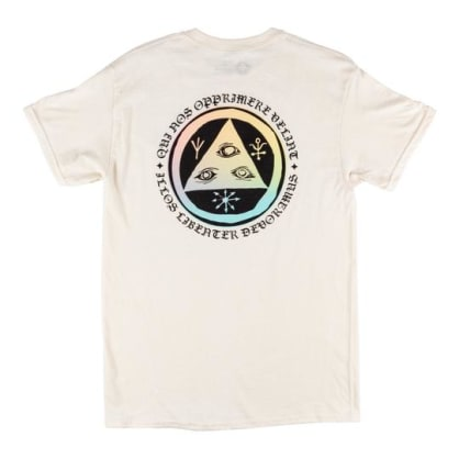 Welcome Skateboards - Latin Tali 2 Tee (Bone/Prism)