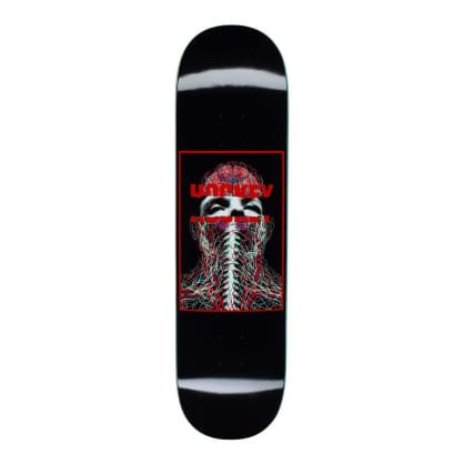 Hockey Nerves Skateboard Deck - 8.25""