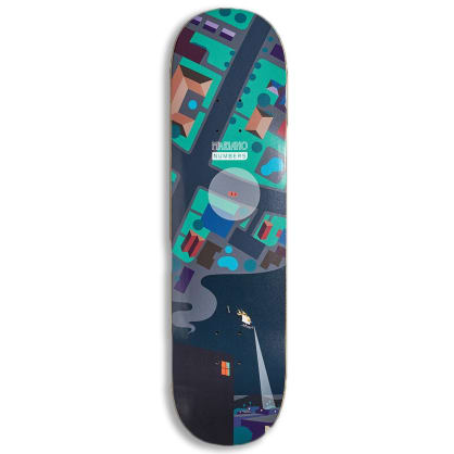 """Numbers (Series One) Mariano Deck 8.5"""""""